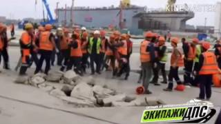 """Драка на заводе """"Звезда"""" в Приморье"""