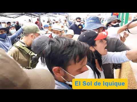 Crisis migratoria | vecinos de Colchane expulsan a ciudadana venezolana de reunión con autoridades