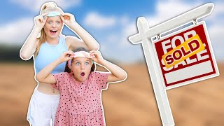 SURPRISING KIDS with our NEW LAND we BOUGHT!