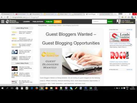 Guest Bloggers Wanted on Rising Marketer