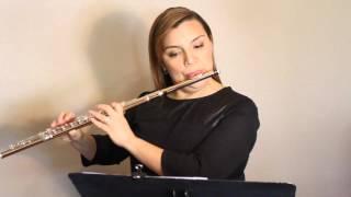 2015 -2016 TMEA Texas All-State Flute Etude #1 (Part 3)