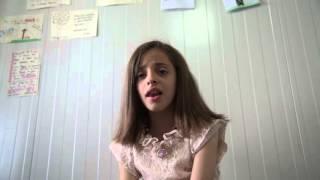 Maryam Baghdeda sings worship
