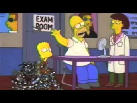 The Simpsons Homer S Beer Belly Youtube