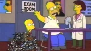 The Simpsons - Homer's eyes