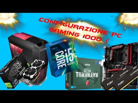 Configurazione PC GAMING 1000 € (Circa) | Luglio 2016 |