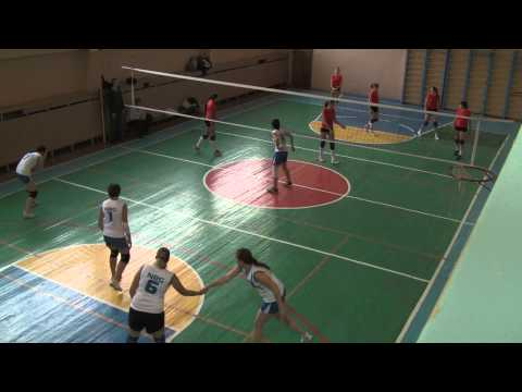 Волейбол. Игра NRG - НУБиП (часть 1)