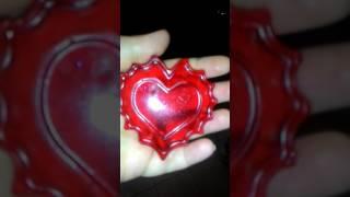 Домашнее мыловарение . Красное сердце