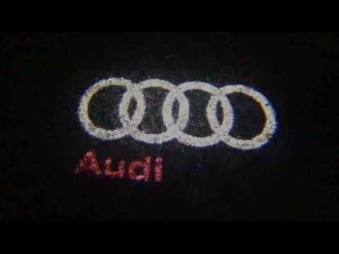 How to install Projctor Puddle lights on Audi A1 A4 A3 A6 Q7 Q5 A5 80 TT A8 Q3 A7 R8 RS