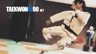 Taekwondo Tornado Kick Training Montage (TaekwonWoo) Stick Together