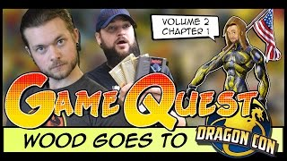 The Game Quest | Volume 2 Chapter 1 - 'Wood Goes To DragonCon'