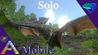 PTERANODON TAMING! HOW TO MAKE DODO KIBBLE AND PATREON INFO! Solo ARK: Mobile [S1:E10]