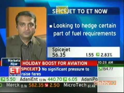 Sanjay Aggarwal, CEO SpiceJet, ET Now(Business Now)
