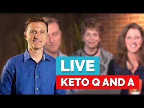 Eric Berg Live Q&A on Keto