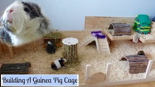 How to Build Your Own Wooden Guinea Pig Cage | DIY Cage