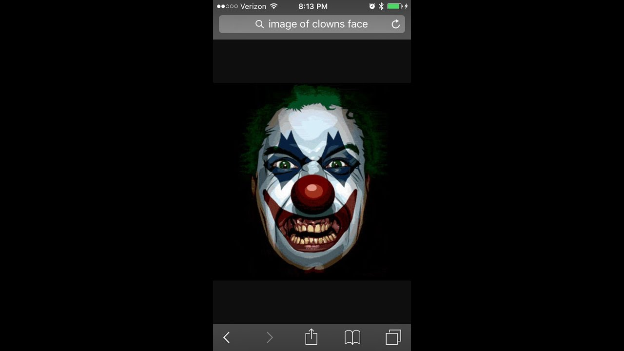 killer clown calls me and rings my dor bell gone wrong youtube