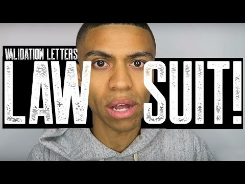 COLLECTION VALIDATION LETTERS LAWSUIT? || HOW TO WIN COURT CASE
