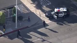 Live Police Chase in Los Angeles