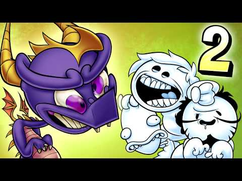 Oney Plays Spyro The Dragon WITH FRIENDS - EP 2 - Bone Of Scone