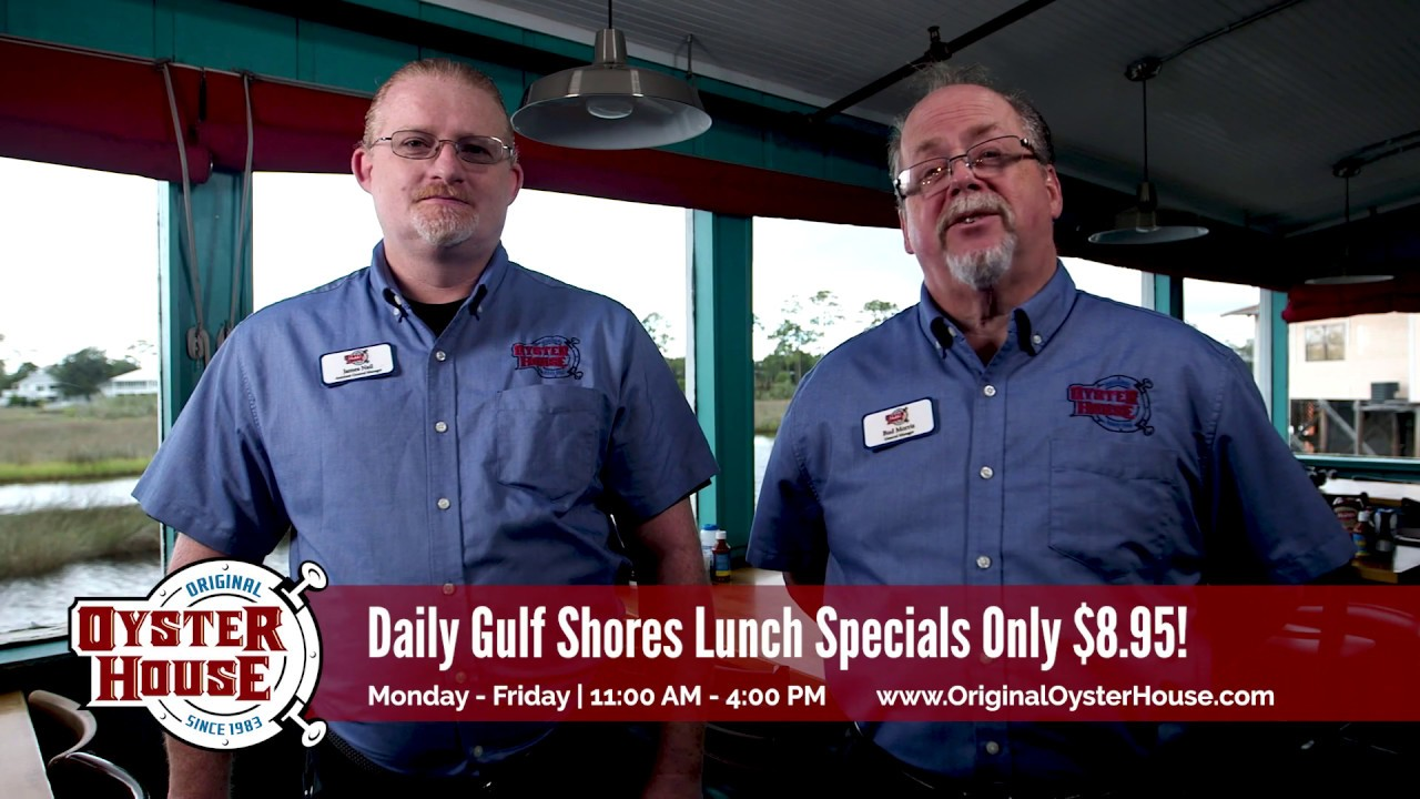 Gulf Shores 8 95 Lunch Specials And All You Can Eat Popcorn Shrimp