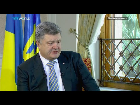 The Newsmakers: Interview with Ukrainian President Petro Poroshenko