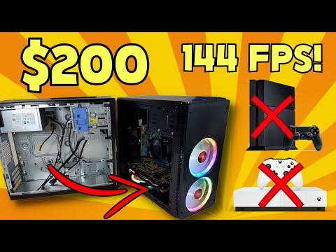 CONSOLE KILLER BUDGET GAMING PC | FORTNITE | RX 570 i5 2400 DELL OPTIPLEX