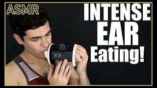 ASMR - INTENSE Ear Eating & Nibbling (Male Whisper and Ear Nibbles for Relaxation & Sleep)