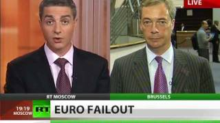 Nigel Farage: United States of Europe insane politics