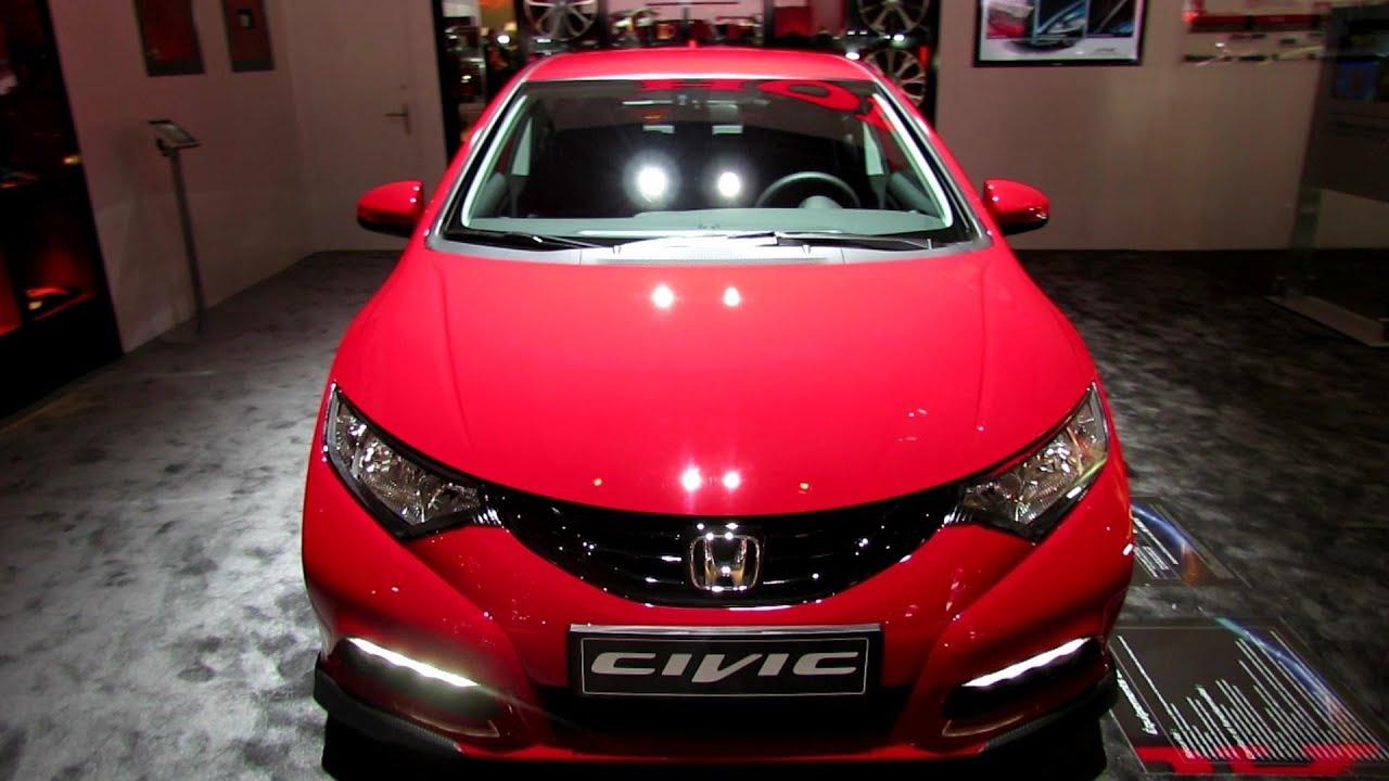 2013 Honda Civic Diesel Sport Pack World Premiere - Exterior/Interior - 2012 Paris Auto Show ...
