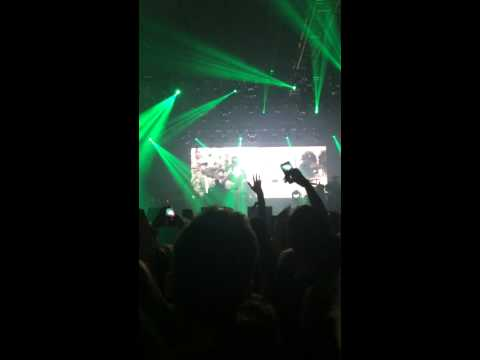 Kendrick Lamar (Kraków) - intro + Money Trees