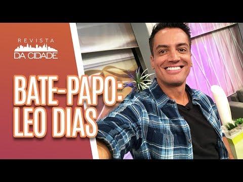 Bate-papo: Leo Dias fala sobre o livro da Anitta - Revista da Cidade (27/03/19)