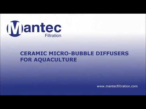 Micro Bubble Diffusers for Aquaculture | Mantec Filtration