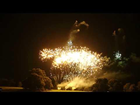 Optimum Fireworks - Allerton Castle Wedding Pyromusical