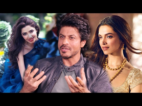 Shahrukh Khan COMPARES Mahira Khan With Deepika Padukone - Raees
