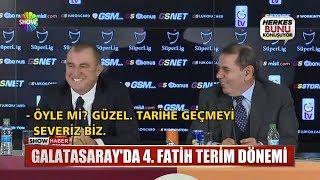 Galatasaray'da 4.Fatih Terim dönemi