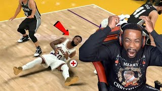 My First Playoff Game Gets Me HEATED! Lakers vs Spurs NBA 2K20 MyCareer Ep 23