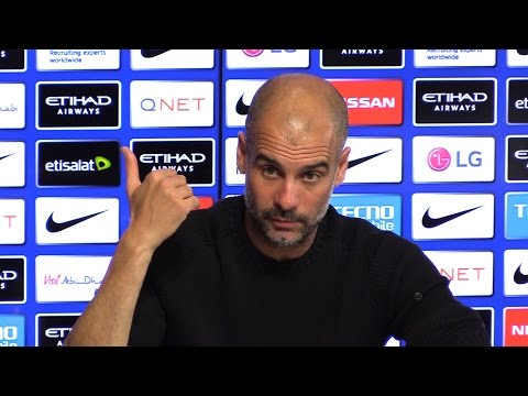 Pep Guardiola 'In My Situation At A Big Club I'm Sacked, I'm Out' Pre Man City v West Brom Embargo