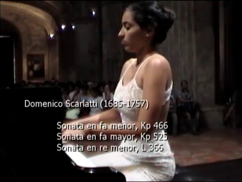 Isabel Mesa Sonata D.Scarlatti  fa menor K 466