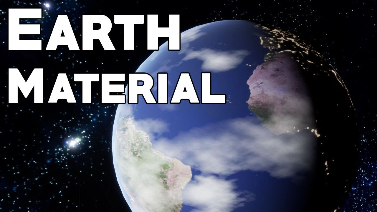 Earth Material (with clouds and day/night cycle) – 2uts