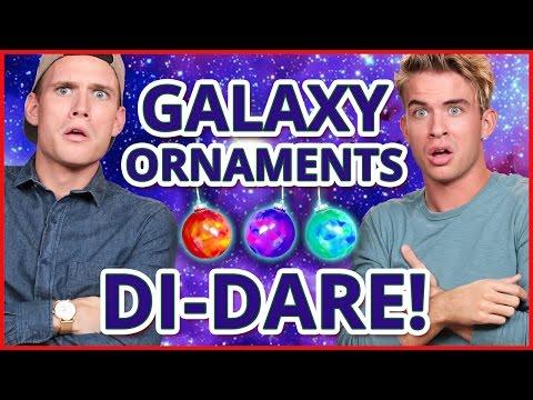 DIY GALAXY ORNAMENTS?! Di-Dare w/ the Rhodes Bros