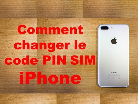 comment changer le code pin sim iphone youtube. Black Bedroom Furniture Sets. Home Design Ideas