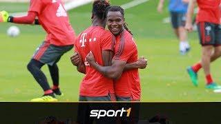 Wie verwandelt! Sorgenkind Renato Sanches blüht im Training des FC Bayern auf | SPORT1