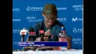 Funny Rafael Nadal translates Novak Djokovic's English into English