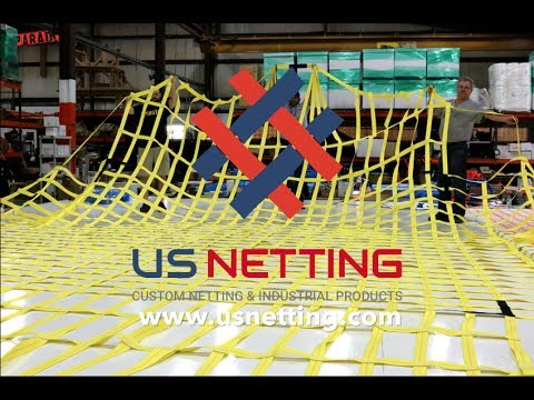 Cargo Lifting Net Construction