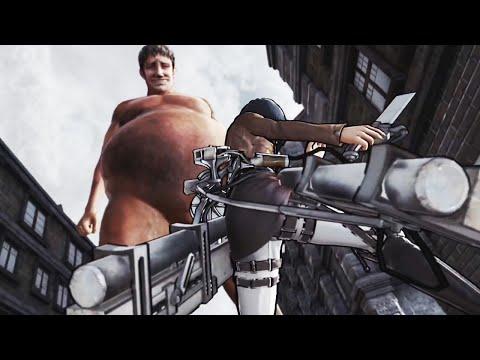 Attack on Titan Story Cutscenes Preview Trailer For PS4, PS3, & PS Vita | (Shingeki no Kyojin 進撃の巨人)