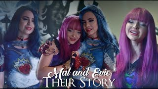 mal and evie || their story [+ Descendants 2]