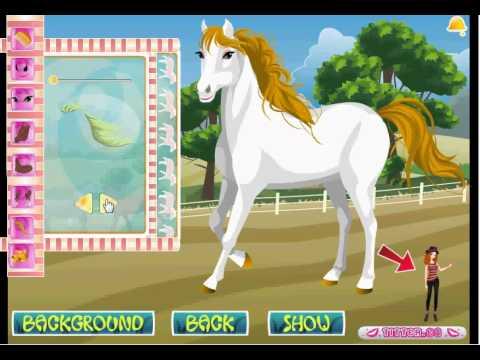 El caballo de Tessa  Juegos de Nias  YouTube