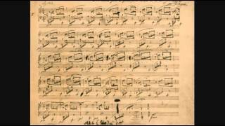 ショパン 自筆譜 (手稿譜)ファクシミリ 無料楽譜 ピアノ Frederic Chopin Facsimile Manuscript Autograph