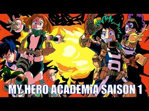 MY HERO ACADEMIA SAISON 1 - MINI MENU MANGA