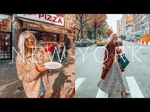 New York Vlog | Times Square, Central Park, NYC Shopping, The Rockefeller & Luxury Airport Shopping!