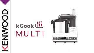 Presentation Du Robot Cuiseur Kcook Multi Ccl405wh De Kenwood